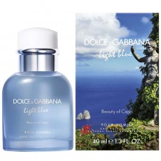 "Туалетная вода Dolce and Gabbana ""Light Blue Pour Homme Beauty of Capri "", 125 ml"