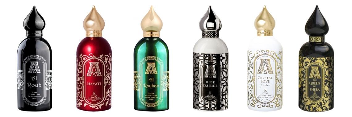 Коллекция ароматов Attar