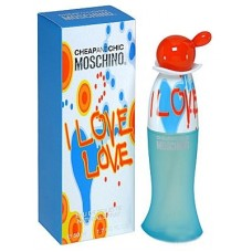 "Туалетная вода Moschino ""Cheap and Chic I Love Love"", 100 ml"